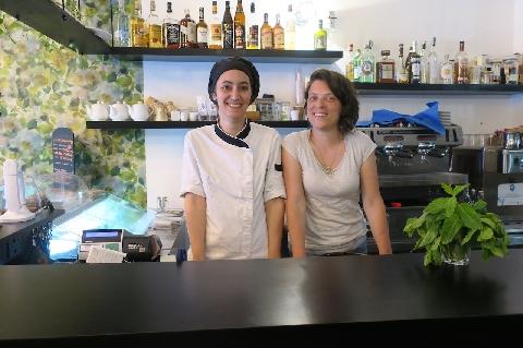 Marina Scalesse e Francesca Leone