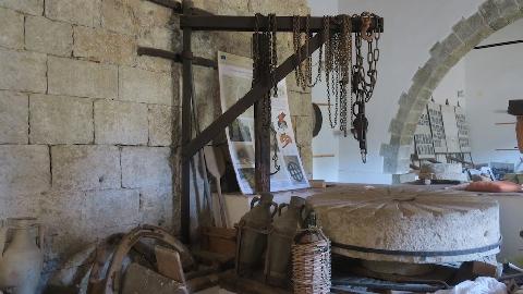 La ruota in pietra del mulino
