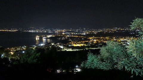 Santa Flavia notturno