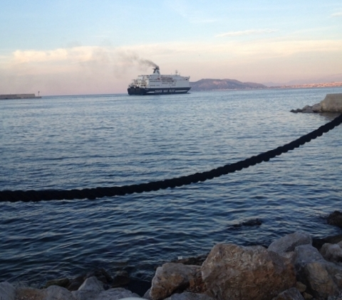Tramonto al porto, Nautoscopio